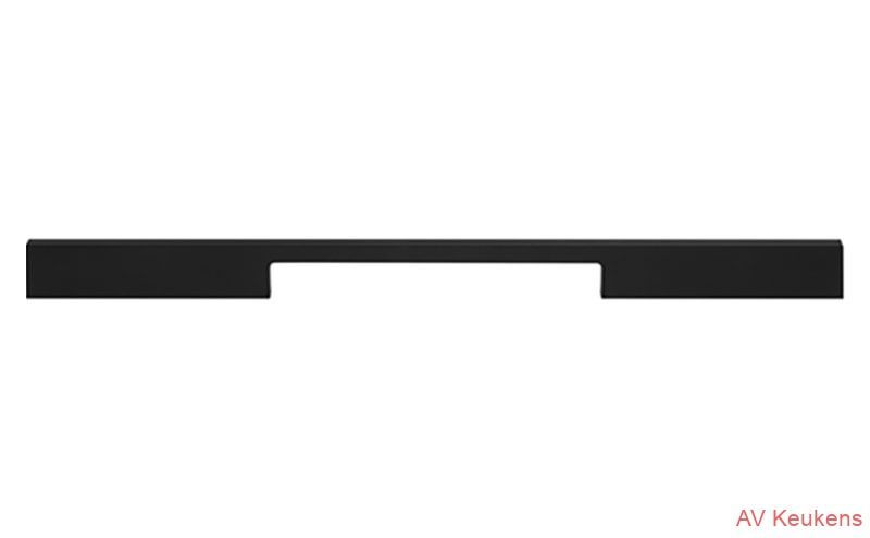 greep-828  staafgreep Black front afhankelijk MP