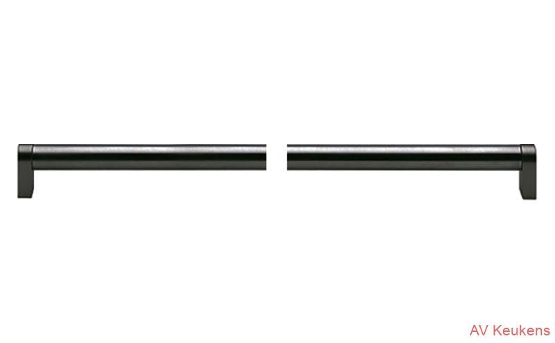 greep-854  staafgreep Black front afhankelijk MP