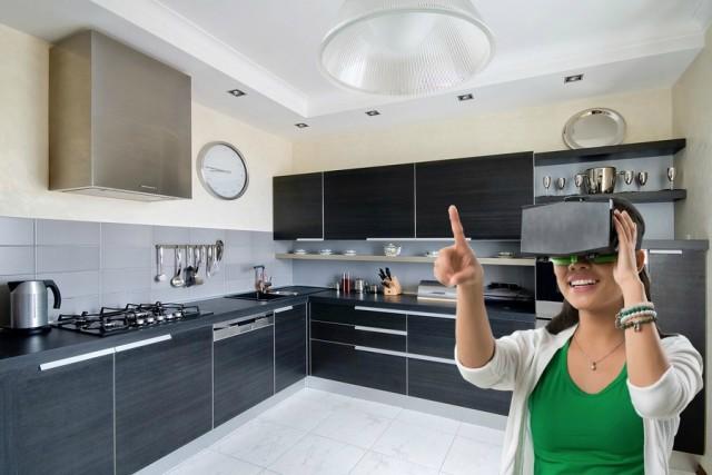 Virtual Reality Keuken : Voorbeeld d ontwerp nu ook in vr modus beschikbaar av keukens